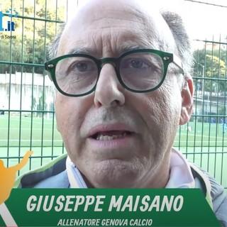 """Genova Calcio. Maisano non si fida della Cairese: """"Ha i mezzi per ribaltare il risultato"""" (VIDEO)"""