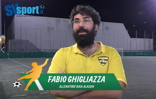 """Calcio, Baia Alassio. Ghigliazza chiama i suoi al salto di qualità mentale: """"In questa categoria non basta tenere bene il campo"""" (VIDEO)"""