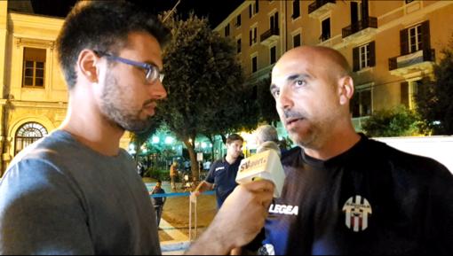 """Calcio, Savona. Siciliano spinge i biancoblu: """"Seravezza peggior avversario possibile, ma vogliamo fare una grande partita"""" (VIDEO)"""