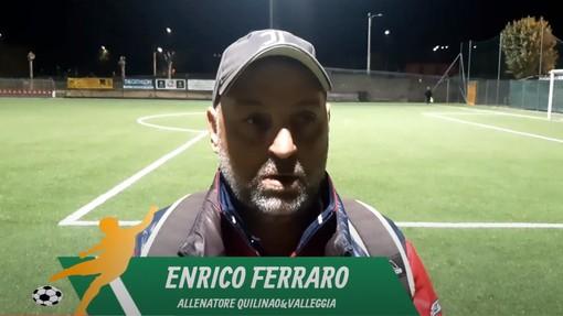 """Calcio, Quiliano & Valleggia. Mister Ferraro loda la concretezza contro il Savona: """"Giocavamo già bene, ora sappiamo trasformare in gol quanto prodotto"""" (VIDEO)"""