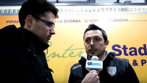 """Calcio, Albenga. Solari sintetico dopo la sconfitta di Coppa con il Sestri Levante: """"Facciamo mea culpa, trasformiamo la rabbia in energia positiva"""" (VIDEO)"""