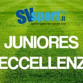 Calcio, Juniores di Eccellenza: i risultati della seconda giornata