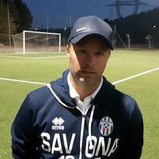 """Calcio, Savona. Per Cattardico non ci sono sconfitte che fanno bene: """"Non abbiamo reagito dopo il pareggio della Vadese dopo un buon primo tempo"""" (VIDEO)"""