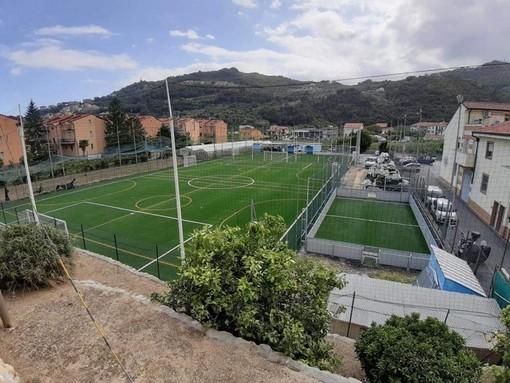 Calcio, Pietra Ligure. Il nuovo centro Val Maremola è finalmente pronto