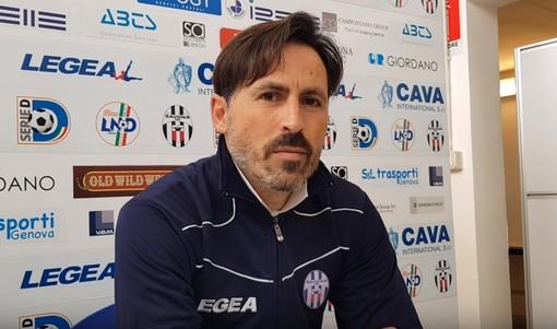 """Calcio. Savona-Bra finisce a reti bianche. Grandoni: """"Muoviamo la classifica. Attacco leggero dal primo minuto? Non volevamo dare punti di riferimento"""" (VIDEO)"""