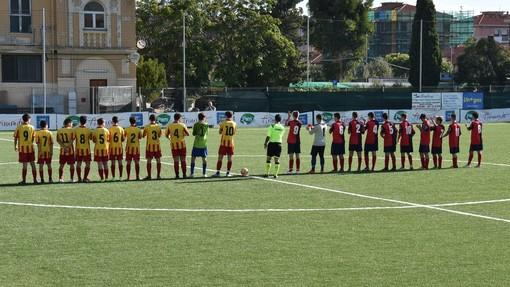 Gli Allievi Under 17 di Dianese&Golfo e Finale in campo (foto Massimo Speedy Vaccarezza)