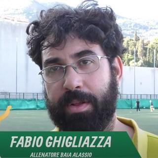 """Calcio, Baia Alassio. Pochi rimpianti per Ghigliazza dopo la sconfitta con il Ceriale: """"Puniti da un episodio, chiediamo arbitraggi rispettosi"""" (VIDEO)"""