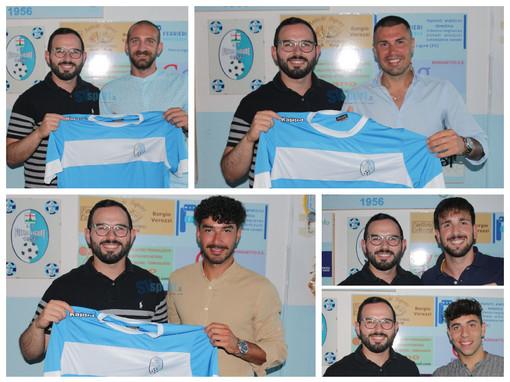 Calciomercato: il Pietra Ligure ufficializza i primi cinque acquisti, fatta per Pastorino, Ferro, Vejseli, Anselmo e Battuello