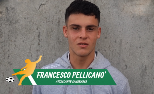 """Calcio, Sanremese. Lo stop non ha arrugginito Francesco Pellicanò: """"Ora qualifichiamoci ai playoff e vinciamoli. Questo gruppo si vuole bene"""" (VIDEO)"""