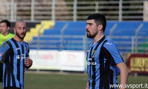 Paolo Scannapieco, autore del primo gol dell'Imperia