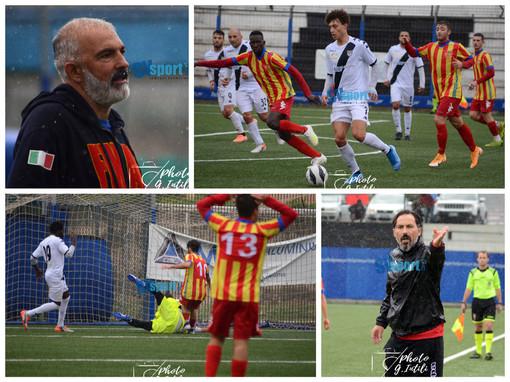 """Calcio, Albenga - Finale 1-1: rivediamo il pareggio del """"Riva"""" nella fotogallery di Giulia Intili"""