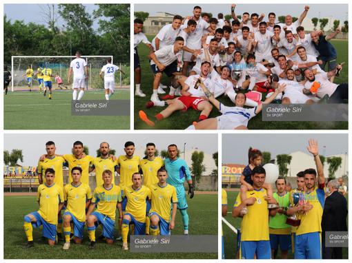 Calcio. Rivediamo la finale tra Cairese e Ligorna in 295 scatti (Fotogallery)