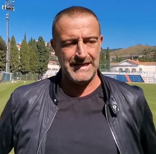 """Calcio, Imperia. Mister Lupo sente odore di battaglia con la Caronnese: """"Categoria operaia, diffidare da chi porta giacca e cravatta..."""""""