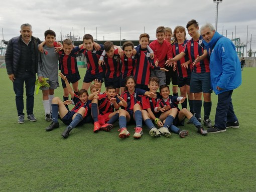 Calcio, Vado: gli Esordienti 2006 del Vado vincono il titolo regionale