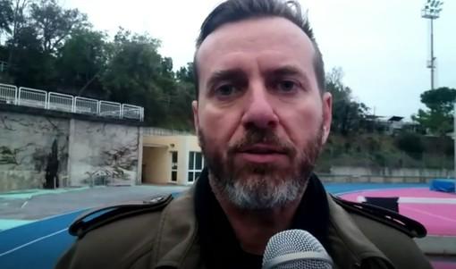 """Calcio, Celle Ligure. Davide Palermo esalta lo spirito della squadra: """"Battuto un grande Bragno. Mercato? Valutiamo, ma questa è la nostra base"""" (VIDEO)"""
