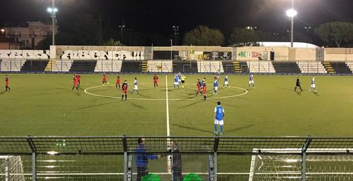 Calcio, Promozione. Inferno e ritorno per il Ceriale, ma i biancoblu festeggiano il primo successo stagionale (5-2 al Camporosso)