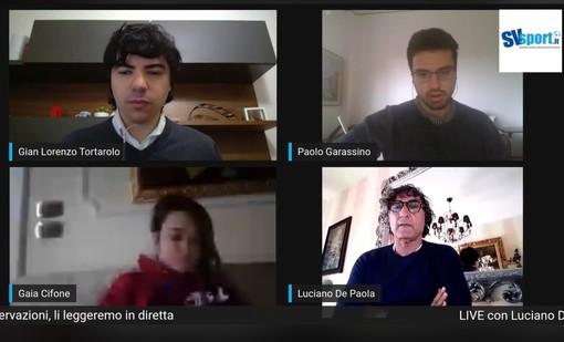 """Calcio, Savona. De Paola guarda al futuro. """"C'è voglia di tornare a vivere. La prossima stagione? C'è la disponibilità a rimanere, questa città merita tanto"""" (VIDEO)"""