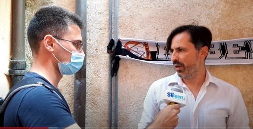 """Calcio. Albenga, mister Grandoni stupito dall'accoglienza della piazza: """"Impatto molto positivo, la cultura del lavoro alla base di questo progetto"""" (VIDEO)"""