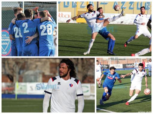 Calcio, Serie D. Vado ancora a bocca asciutta a Fossano. La fotogallery del match vinto dai piemontesi