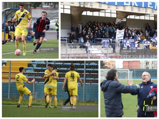 Calcio. Riviviamo il derby Savona - Vado nella fotogallery di Gabriele Siri