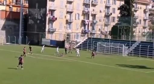Calcio, imperia: rivediamo le reti di Donaggio, decisive nel 2-1 sulla Caronnese (VIDEO)