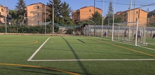 Calcio, Pietra Ligure. Al centro Val Maremola arriva anche la tribuna