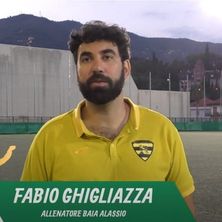"""Calcio, Baia Alassio. Rimpianti vicini a quota zero per Fabio Ghigliazza: """"Serra Riccò forte, noi siamo indietro fisicamente e mentalmente"""" (VIDEO)"""
