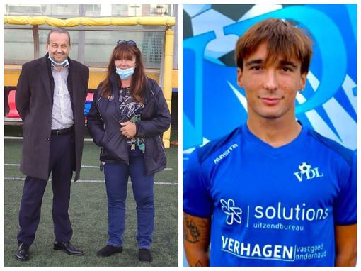 """Calcio, Alassio FC. Patrizia Testa ha fatto visita al """"Ferrando"""" ed è in arrivo Francesco Pelliccione, in rientro dall'Olanda"""
