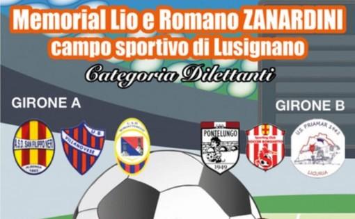 Calcio, Memorial Lio e Romano Zanardini: stasera San Filippo Neri - Villanovese e Pontelungo - Priamar