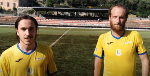 """Calcio, Cairese. Durante e Facello promettono battaglia contro il Ligorna: """"Può succedere di tutto, in campo per vincere contro una squadra di valore"""" (VIDEO)"""
