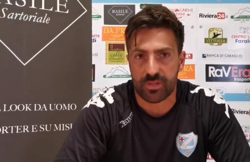 """Calcio, Sanremese. Andreoletti brinda all'impresa playoff: """"Questo è un gruppo che spinge, per noi vale come vincere un campionato"""" (VIDEO)"""