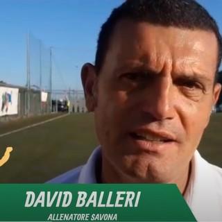 """Calcio, Savona. Balleri non si accontenta: """"Continuiamo a spingere, da migliorare condizione fisica e gestione. Le tre punte? Per ora andiamo avanti con il 3-5-2"""" (VIDEO)"""