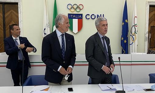 """L'invito del presidente di Giovanni Malagò, numero uno del Coni: """"Sportivi, vaccinatevi!"""""""