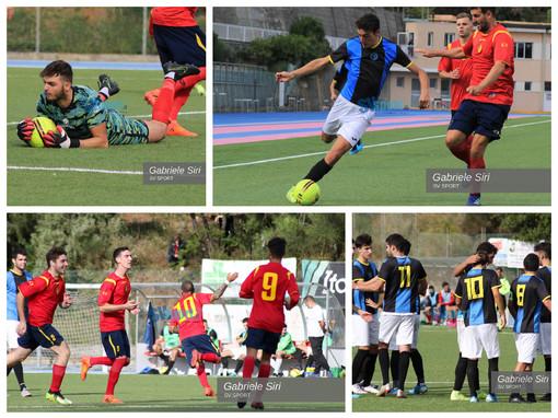 Calcio, il Taggia espugna Varazze, la fotogallery di Gabriele Siri