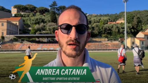 """Calcio, Sestrese. Più orgoglio che rammarico per il ds Catania: """"Vicini all'impresa nonostante le difficoltà fisiche. La prossima stagione? Vedremo di accontentare il mister"""" (VIDEO)"""