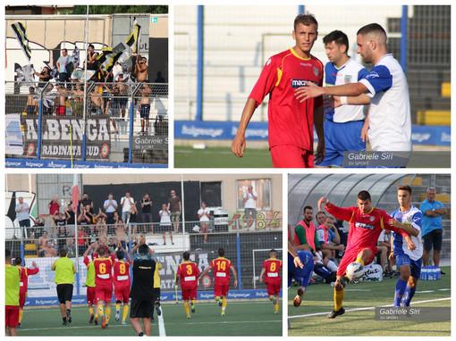 Calcio, Albenga - Campomorone. Gli scatti più belli della prima gara di Coppa Italia (Gallery)