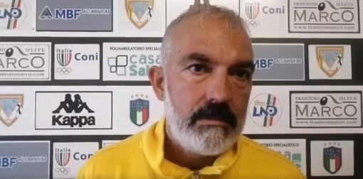 """Calcio, Finale. Buttu può sorridere dopo il pareggio di Albenga: """"La squadra ha provato fino all'ultimo a vincere, il salto di qualità a livello mentale è stato evidente"""" (VIDEO)"""