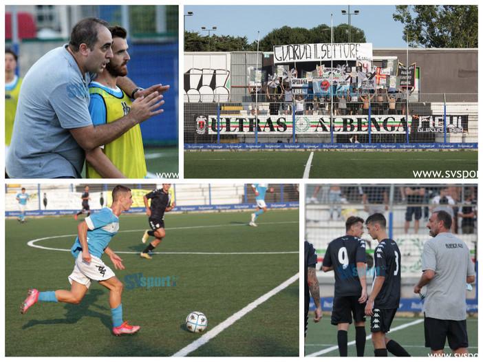 Calcio, Coppa Italia di Eccellenza: l'Albenga supera 2-0 il Pietra Ligure, la fotogallery del match