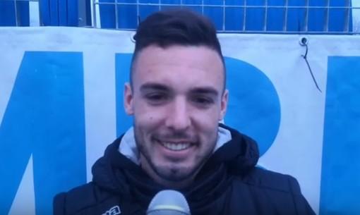 Calcio, Albenga. Facu Marquez sfonda quota dieci reti e lancia una dedica speciale in direzione Argentina (VIDEO)