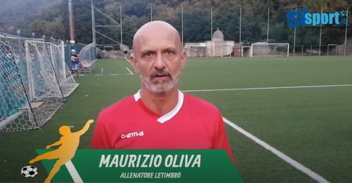 """Calcio, Letimbro. Mister Oliva sconfitto ma non abbattuto dopo il ko di Coppa con lo Speranza: """"Siamo più avanti del previsto, il girone con le genovesi affascina"""" (VIDEO)"""