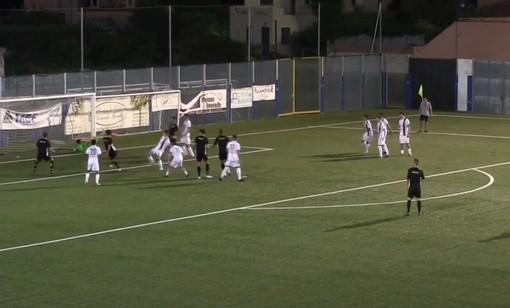 Calcio, Albenga - Golfo Dianese 1-0: il gol di Carlo Nardi (VIDEO)