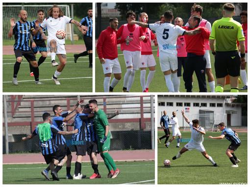 Calcio. Sancinito risponde a Strumbo. Vado - Imperia è 1-1 (LA FOTOGALLERY)