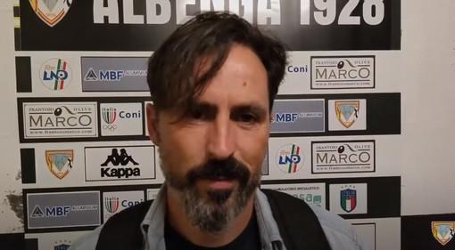 """Calcio, Albenga. Grandoni non si scompone dopo la sconfitta con il Pietra: """"I difetti e i pregi attuali erano noti anche prima della partita. Sappiamo dove migliorare"""" (VIDEO)"""
