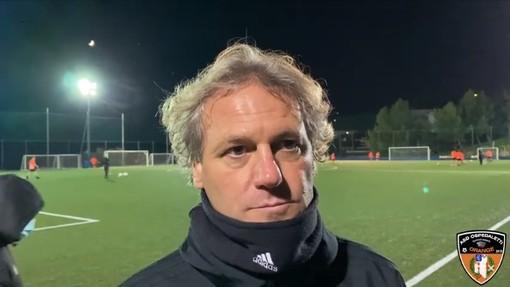 """Ospedaletti. Gli allenamenti individuali non scoraggiano mister Biffi: """"Il calcio è un'altra cosa, ma l'impegno di questi ragazzi è eccezionale"""" (VIDEO)"""