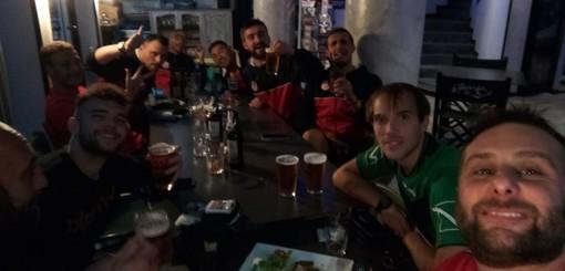 FOTONOTIZIA: festa Soccer dopo la vitoria nel derby