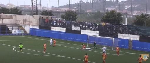 Calcio, Albenga - Finale: Marquez risponde a Fabbri, ecco i gol dell'Annibale Riva (VIDEO)