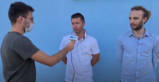 """Calcio, Savona. Cattardico e Delucis subito a testa bassa: """"Nessun alibi, in campo sempre per vincere"""" (VIDEO)"""