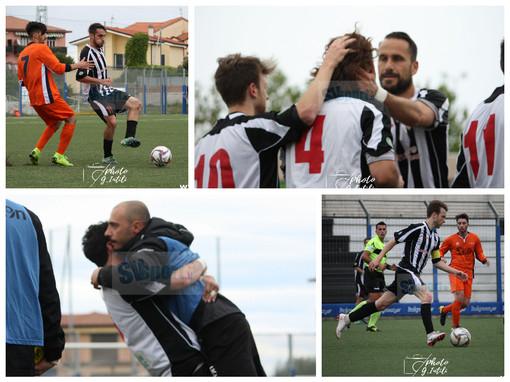 Calcio: le emozioni di Albenga - Sammargheritese nelal fotogallery di Giulia Intili