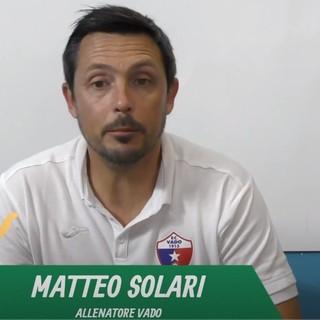 """Calcio, Vado. Solari dopo il 4-4 con il Pont Donnaz: """"In difesa abbiamo rinculato troppo, bravi a recuperare ogni volta che siamo stati in svantaggio"""" (VIDEO)"""