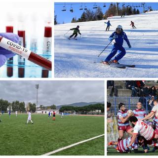 collage sportivo calcio rugby sci